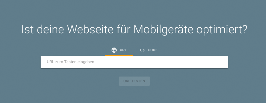 Google Mobile Friendly Tester