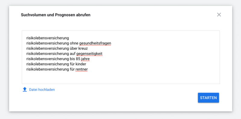 Google Keyword-Planer - Suchvolumen nutzen - SEO-Guide